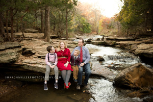 family session at Stone Creek by Flower Mound family photographer Sharon Miller